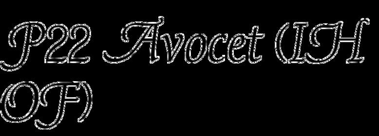 P22 Avocet (IHOF)