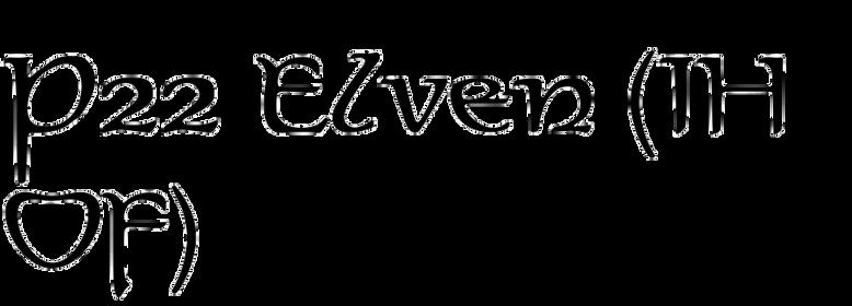 P22 Elven (IHOF)
