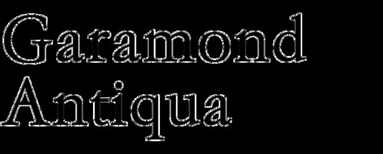 Garamond Antiqua (RMU)