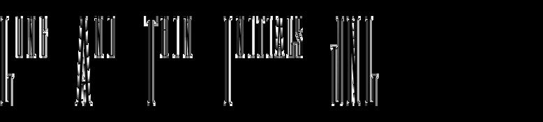 Long And Thin Initials JNL