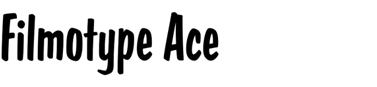 Filmotype Ace