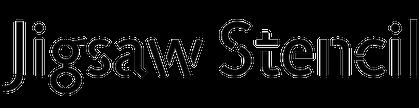 Jigsaw Stencil