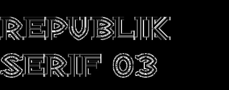 Republik Serif 03