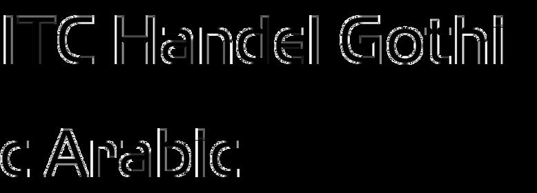 ITC Handel Gothic Arabic