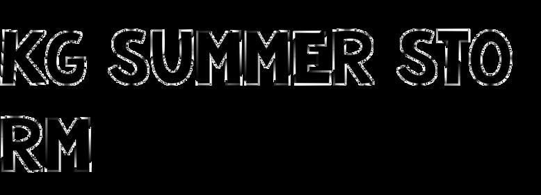 KG Summer Storm