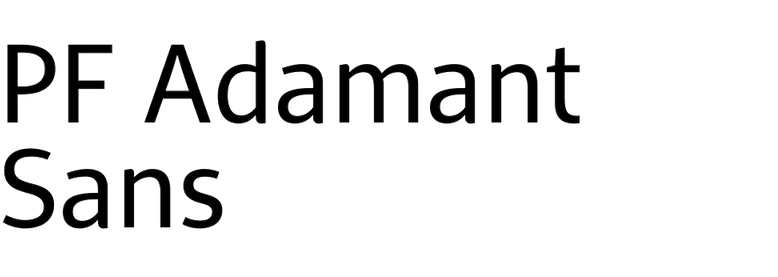 PF Adamant Sans