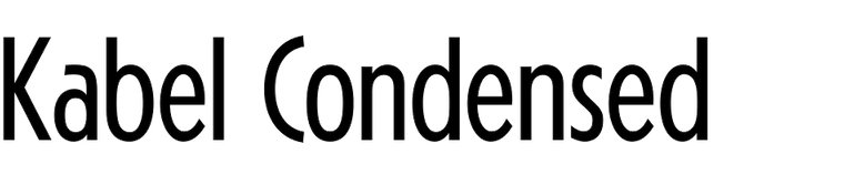 Kabel Condensed