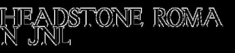 Headstone Roman JNL