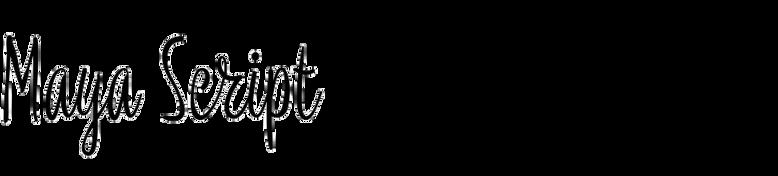 Maya Script