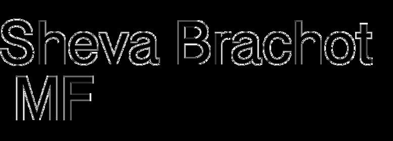 Sheva Brachot MF