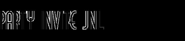 Party Invite JNL