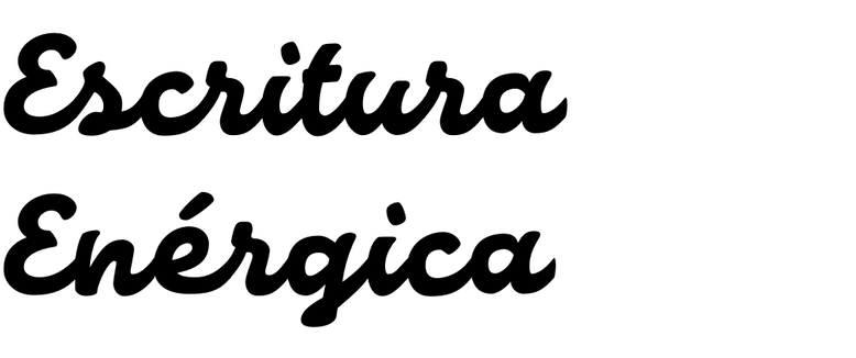 Escritura Energica