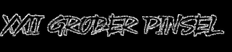 XXII Grober Pinsel