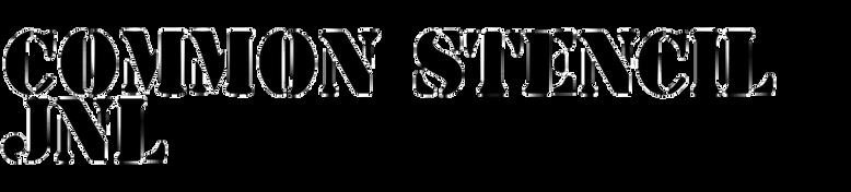 Common Stencil JNL