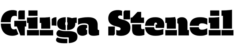 Girga Stencil