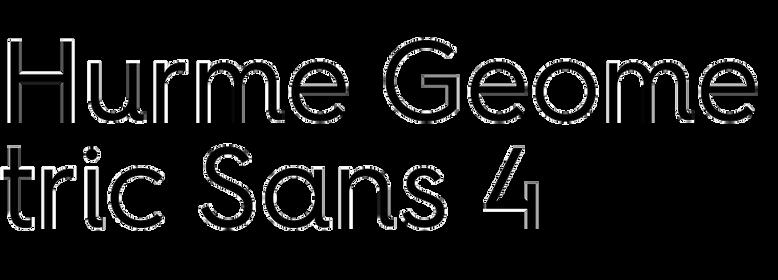 Hurme Geometric Sans 4