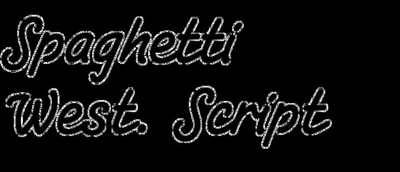 Spaghetti Western Script