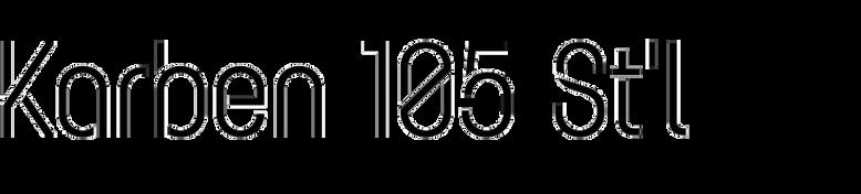 Karben 105 Stencil