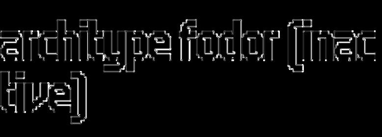 Architype Fodor
