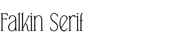 Falkin Serif