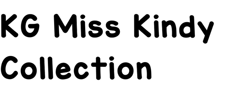 KG Miss Kindy Collection