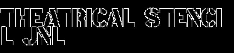 Theatrical Stencil JNL