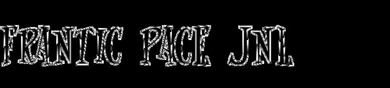 Frantic Pace JNL