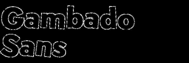 Gambado Sans