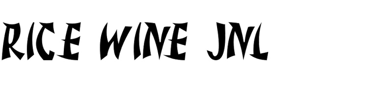 Rice Wine JNL