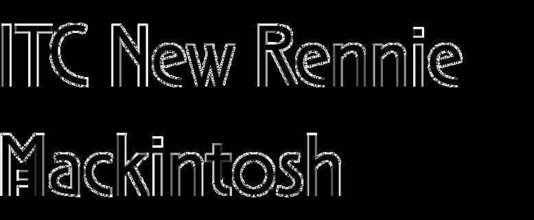 ITC New Rennie Mackintosh