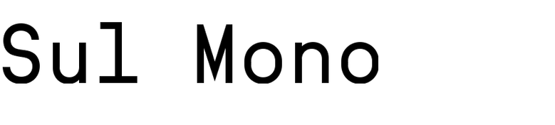 Sul Mono