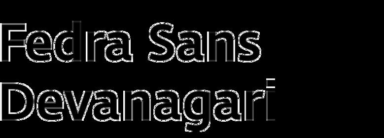 Fedra Sans Devanagari