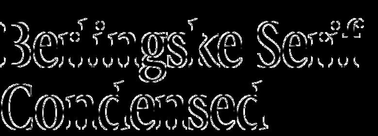 Berlingske Serif Condensed