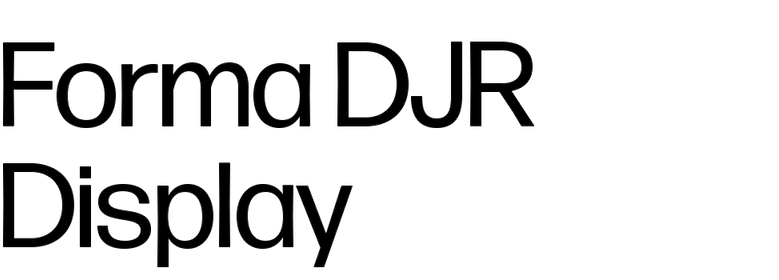 Forma DJR Display