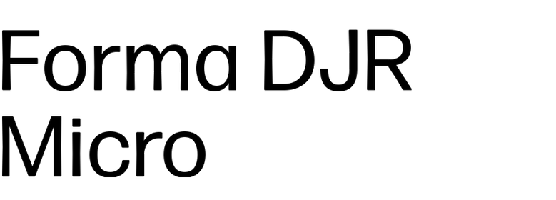 Forma DJR Micro
