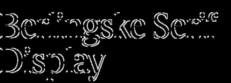 Berlingske Serif Display