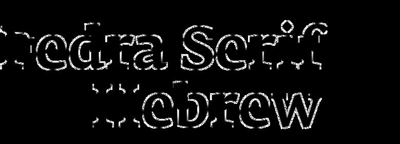 Fedra Serif Hebrew