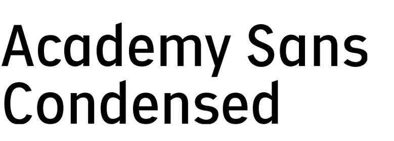Academy Sans Condensed