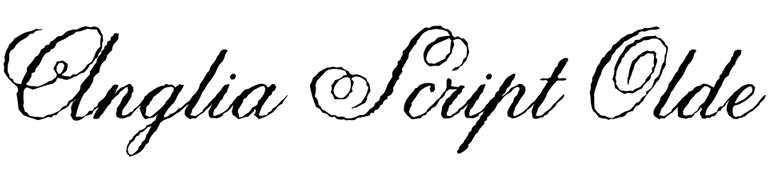 Anglia Script Olde