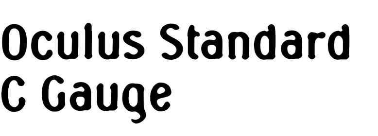 Oculus Standard C Gauge