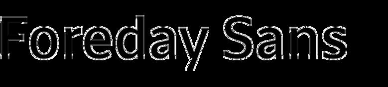 Foreday Sans