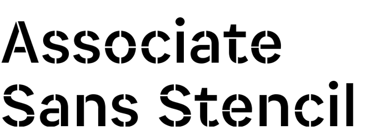Associate Sans Stencil