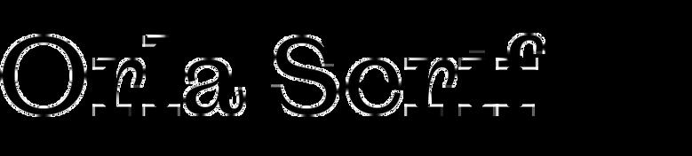 Orla Serif