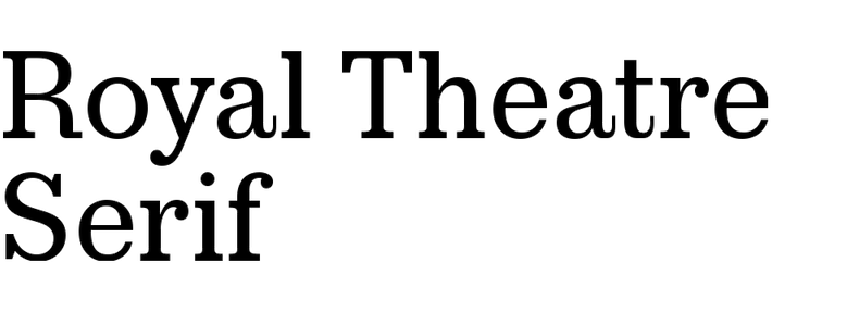 Royal Theatre Serif