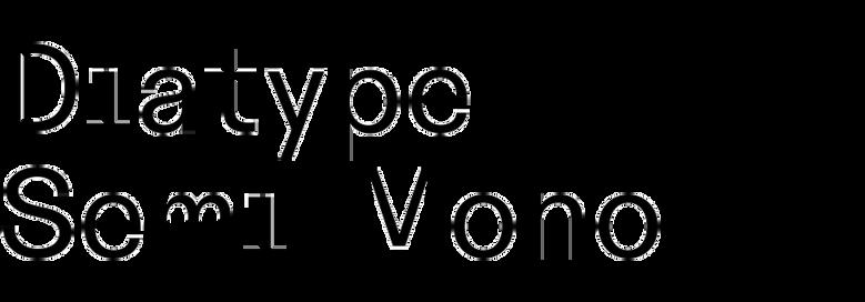 ABC Diatype Semi-Mono