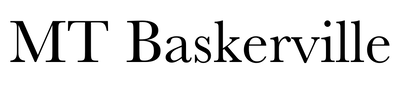 Monotype Baskerville