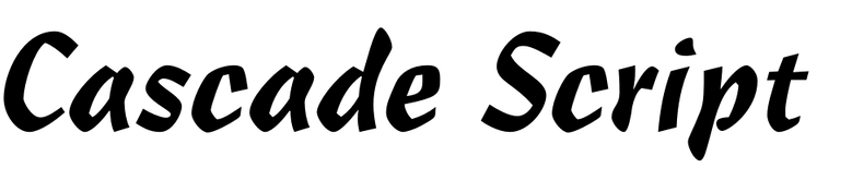Cascade Script