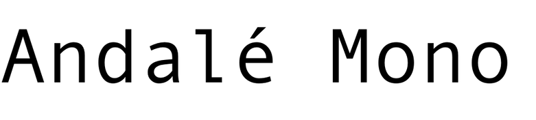 Andalé Mono