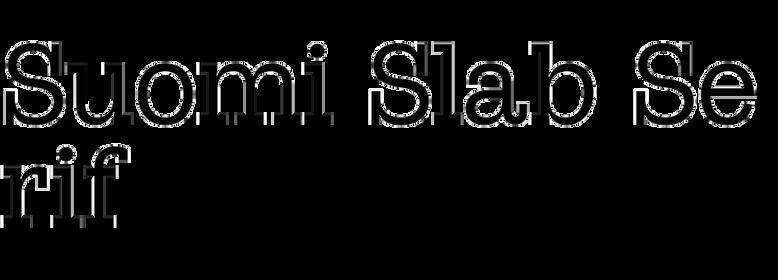 Suomi Slab Serif (Suomi)