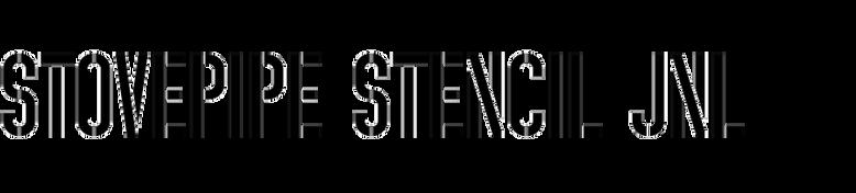 Stovepipe Stencil JNL